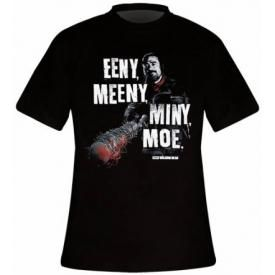 T-Shirt Mec THE WALKING DEAD - Eeny Meeny Miny Moe