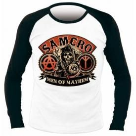 T-Shirt Mec SONS OF ANARCHY - Samcro Baseball