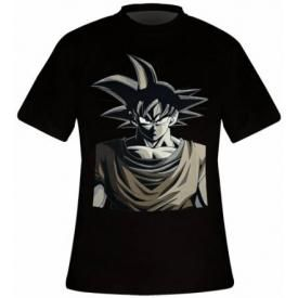 T-Shirt Mec DRAGON BALL Z - Son Goku Monochrom