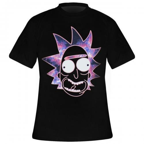 A Neon Homme T Rick Rock Morty Et Gogo Shirt 5X00rnwxp