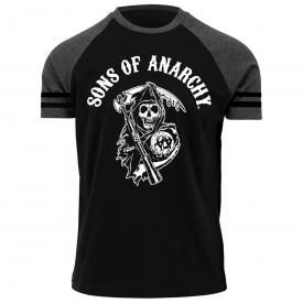T-Shirt Homme SONS OF ANARCHY - Reaper Raglan