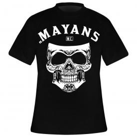 T-Shirt Homme MAYANS M.C. - Mexican Skull