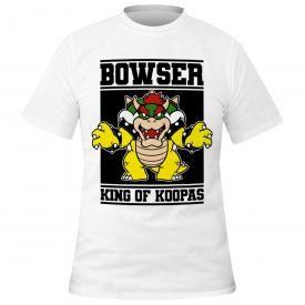 T-Shirt Homme MARIO - Bowser King Of Koopas