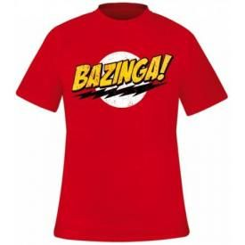 T-Shirt Mec THE BIG BANG THEORY - Bazinga