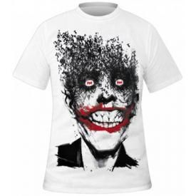 T-Shirt Mec BATMAN - Crazy Joker