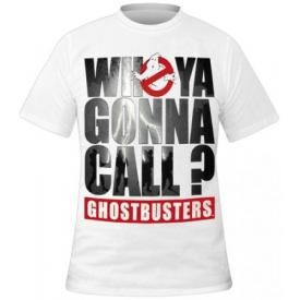 T-Shirt Mec Cinéma GHOSTBUSTERS - Who Ya Gonna Call