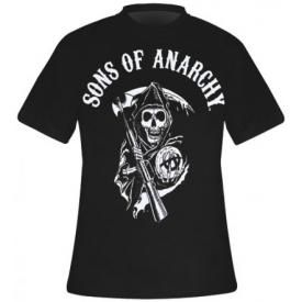 T-Shirt Mec SONS OF ANARCHY - Classic Logo