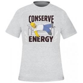 T-Shirt Mec SIMPSON - Conserve Energy