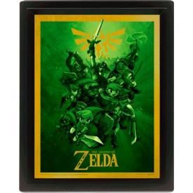 Mini Cadre Poster 3D NINTENDO - The Legend Of Zelda