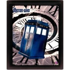 Mini Cadre Poster 3D DOCTOR WHO - Tardis Timespiral