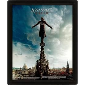 Mini Cadre Poster 3D ASSASSIN'S CREED - Movie Spire Teaser