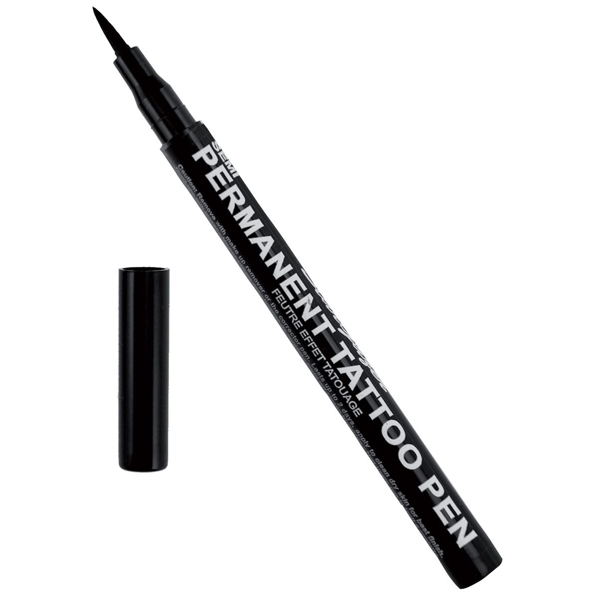 crayon tatouage stargazer feutre noir semi permanent crayons tatouages rock a gogo. Black Bedroom Furniture Sets. Home Design Ideas