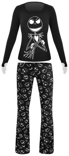 ensemble pyjama femme mister jack nightmare shining pyjamas rock a gogo. Black Bedroom Furniture Sets. Home Design Ideas