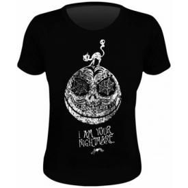 Tee Shirt Femme MISTER JACK - I Am Your Nightmare