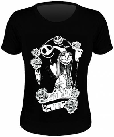 tee shirt femme mister jack simply meant to be rock a gogo. Black Bedroom Furniture Sets. Home Design Ideas