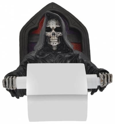 Porte rouleaux papier toilette dark d co reaper porte - Deco rouleau de papier toilette ...