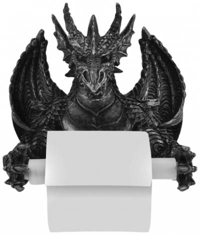 porte rouleaux papier toilette dark d co dragon porte. Black Bedroom Furniture Sets. Home Design Ideas