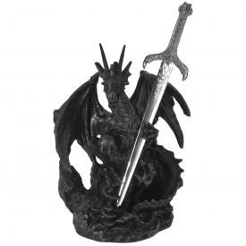 Statuette DARK DÉCO - Dragon & Sword