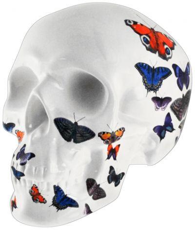 tirelire dark d co butterfly skull cr nes rock a gogo. Black Bedroom Furniture Sets. Home Design Ideas