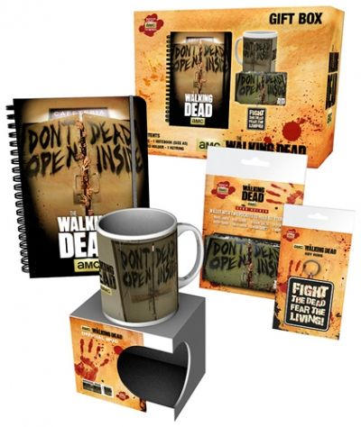 coffret the walking dead gift box tasses rock a gogo. Black Bedroom Furniture Sets. Home Design Ideas