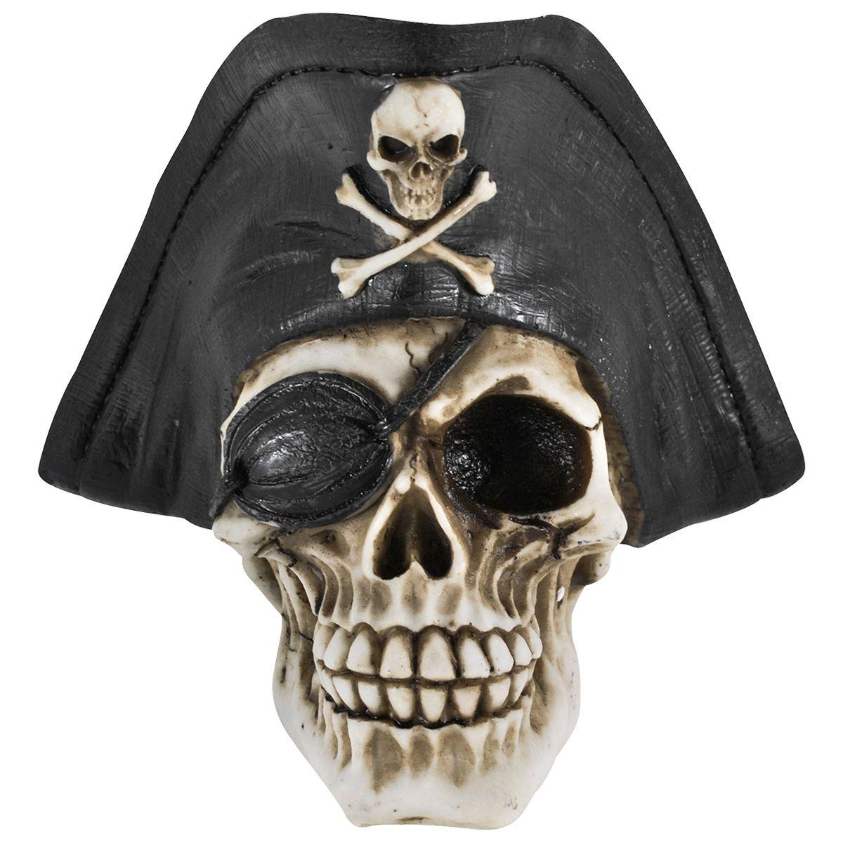cr ne dark d co t te de mort de pirate cr nes rock a. Black Bedroom Furniture Sets. Home Design Ideas