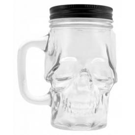 Verre ALCHEMY - Glass Skull Drinking Jar