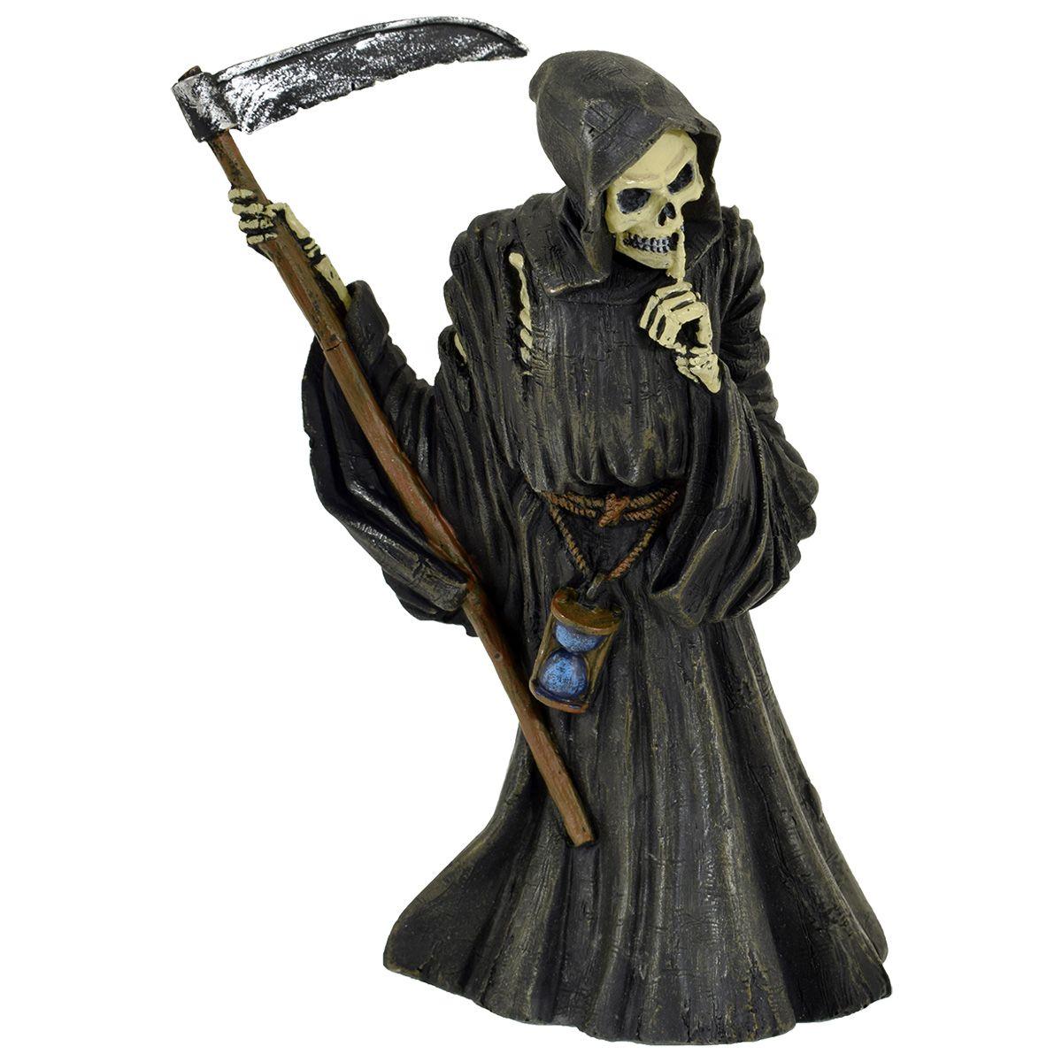statuette dark d co la faucheuse statuettes rock a gogo. Black Bedroom Furniture Sets. Home Design Ideas
