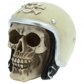 Crâne DARK DÉCO - Crâne Casqué