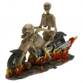 Statuette DARK DÉCO - Skeleton Rider