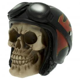 Crâne DARK DÉCO - Biker Skull