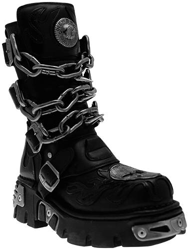 chaussures new rock chaotic bottes rock a gogo. Black Bedroom Furniture Sets. Home Design Ideas