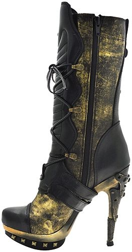 bottes nana new rock steampunk chaussures rock a gogo. Black Bedroom Furniture Sets. Home Design Ideas