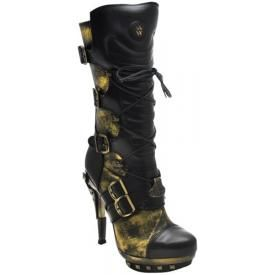 Bottes Nana NEW ROCK - Steampunk