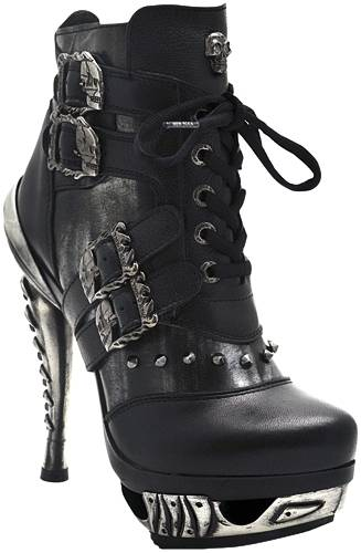 chaussures nana new rock magneto escarpins rock a gogo. Black Bedroom Furniture Sets. Home Design Ideas