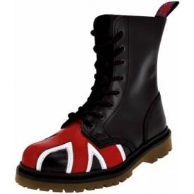 Boots NEVERMIND - 8 Holes UK Flag Doc