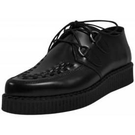 Chaussures NEVERMIND - Creepers Meteor Black