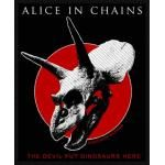 Patch ALICE IN CHAINS - The Devil Put Dinosaurs Here