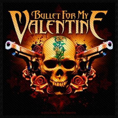 4d96e6e832cc Patch BULLET FOR MY VALENTINE - Two Pistols - Rock A Gogo