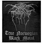 Patch DARKTHRONE - True Norwegian Black Metal