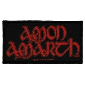 Patch AMON AMARTH - Red Logo