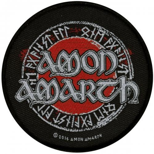 Amon Amarth Red Flame Wristband Bracelet /éponge Noir