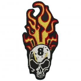Patch TÊTE DE MORT - Eight Skull Flame