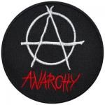 Patch DIVERS - Anarchy Rond