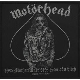 Patch MOTÖRHEAD - Lemmy 49% Motherfucker