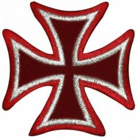 Patch CHOPPER - Maltese Cross
