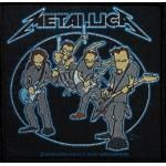 Patch METALLICA - Cartoon