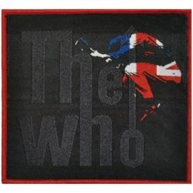 Patch THE WHO - UK Red