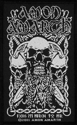 Image de Patch AMON AMARTH - Skulls