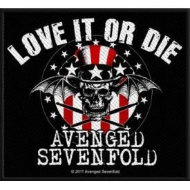 Patch AVENGED SEVENFOLD - Love It Or Die