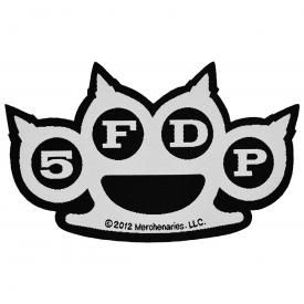 Patch FIVE FINGER DEATH PUNCH - Knuckles Cut-Out